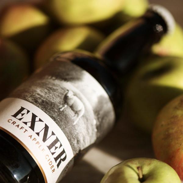 Exner y manzanas